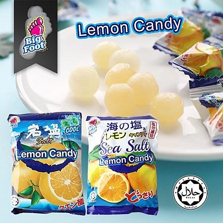 馬來西亞 Bigfoot 檸檬糖 糖果 硬糖 薄荷岩鹽檸檬糖 海鹽檸檬糖 馬來西亞糖果 團購