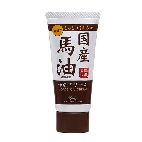 Lashi 日本國產馬油極潤保濕護手霜45g【小三美日】D053681