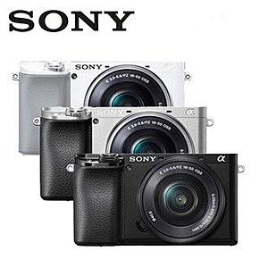 限量送電池+32G高速卡+好禮 SONY A6100L 單鏡組 ILCE-6100L 銀