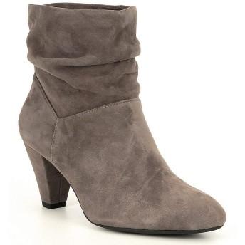 [アレックスマリー] レディース ブーツ&レインブーツ Pirene Slouch Suede Block Heel Booties [並行輸入品]