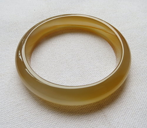 天然玉髓手鐲#0875  60mm