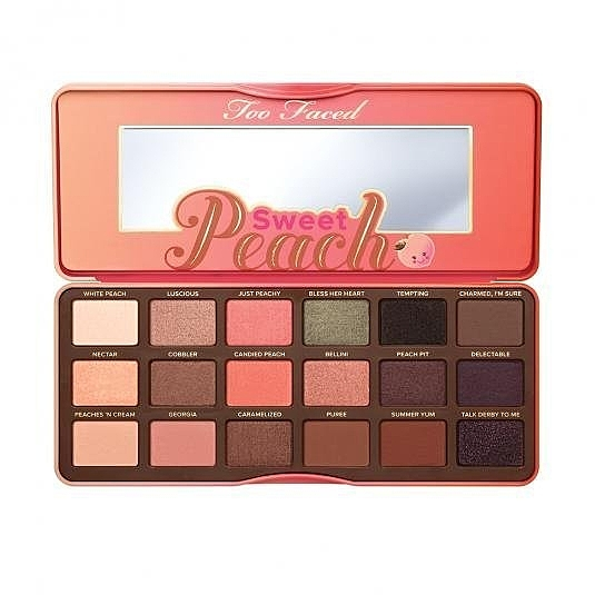 美國 TOO FACED SWEET PEACH EYE SHADOW PALETTE 水蜜桃18色眼影盤