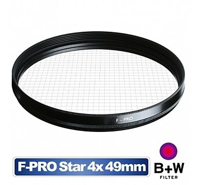【聖影數位】B+W Star Effect 49mm 4x 四線 星芒特效鏡   Star 49mm 4x  德國製【公司貨】