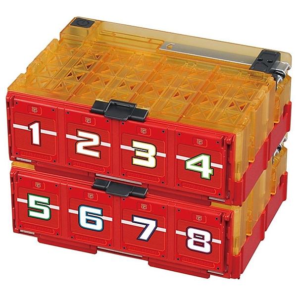 促銷優惠 TOMICA 緊急救援隊 多美彈射收納箱