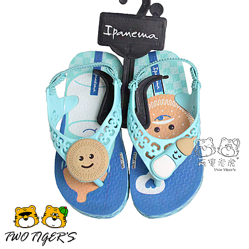 Ipanema 藍色 小童鞋 活力貝比夾腳休閒涼鞋 NO.Y1083
