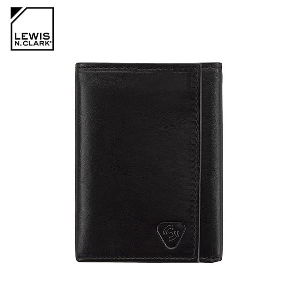 Lewis N. Clark RFID屏蔽小羊皮三折皮夾 930 / 城市綠洲 (防盜錄、錢包、短夾、旅遊配件、美國品牌)