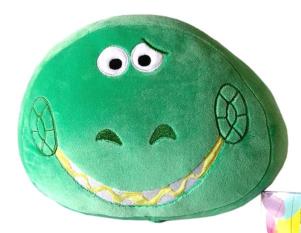 【卡漫城】 抱抱龍 Q彈 午休枕 庫1 ㊣版 靠墊 枕頭 絨毛 午安枕 Rex 抱枕 玩具總動員 Toy Story