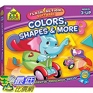 [106美國暢銷兒童軟體] Colors Shapes & More Flash Action