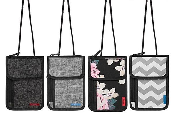 掛繩防盜護照包【NF617】旅行護照包 錢包多功能挎包 可背式小挎包 隨身小斜挎包 證件包卡包