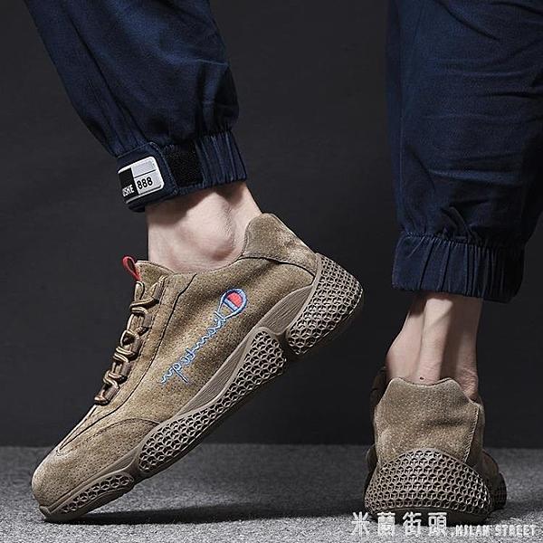 安全鞋 勞保鞋男防砸防刺穿透氣耐磨鋼包頭真皮電焊工安全工作工地老保鞋