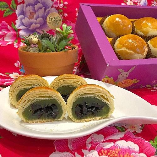 綠茶酥~新品上市~茶香濃郁甘醇~三和珍餅舖