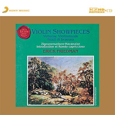 【停看聽音響唱片】【K2HD】Erick Friedman Violin Showpieces