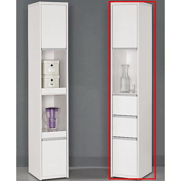 櫥櫃 餐櫃 MK-946-2 卡洛琳1尺三抽餐櫃【大眾家居舘】
