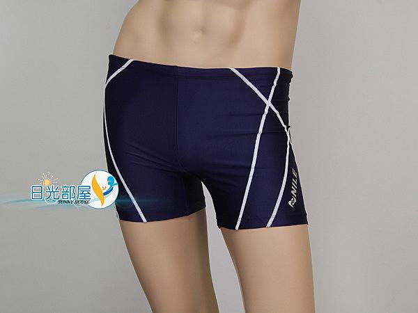 *日光部屋* Nile (公司貨)/ NLA-0204-NWT 運動休閒四角泳褲(日本品牌)