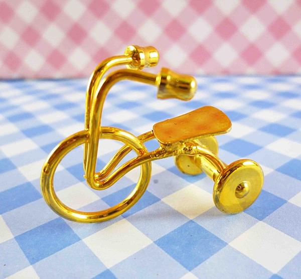 【震撼精品百貨】日本精品百貨-日本迷你袖珍擺飾-腳踏車