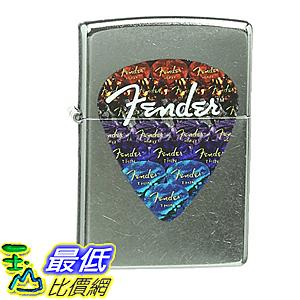[美國直購] Zippo Fender Guitar Pick Lighter, Street Chrome 打火機