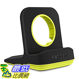 [106美國直購] Spigen 000CD21184 智慧手錶充電座 S350 Apple Watch Stand Mode for Series 1/2 /42mm/38mm