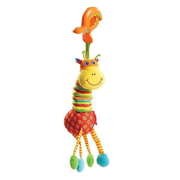 美國 Tiny Love 夾偶-抖抖長頸鹿/推車汽座玩具