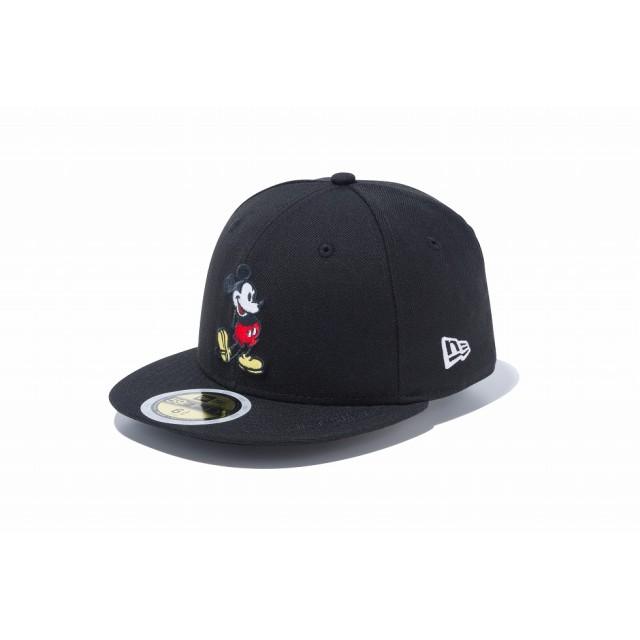 NEW ERA ニューエラ キッズ 59FIFTY ディズニー ミッキーマウス ブラック ベースボールキャップ キャップ 帽子 男の子 女の子 6 1/2 (52cm) 12108600 NEWERA