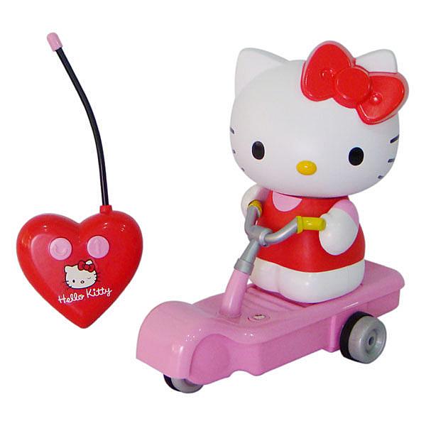 Hello Kitty  歡樂遙控滑板車