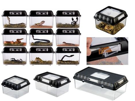 爬蟲飼養箱蜘蛛飼養盒烏龜缸角蛙蝎子守宮寵物蛇蜥蜴壓克力箱 全館免運