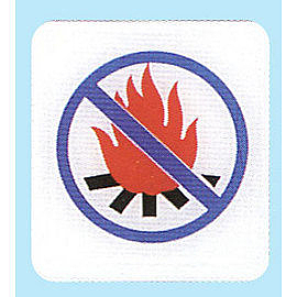 新潮指示標語系列  HS貼牌-嚴禁煙火HS-530 / 個