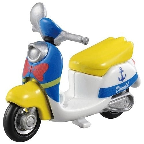 TOMICA小車-迪士尼夢幻車隊-唐老鴨摩托車-玄衣美舖
