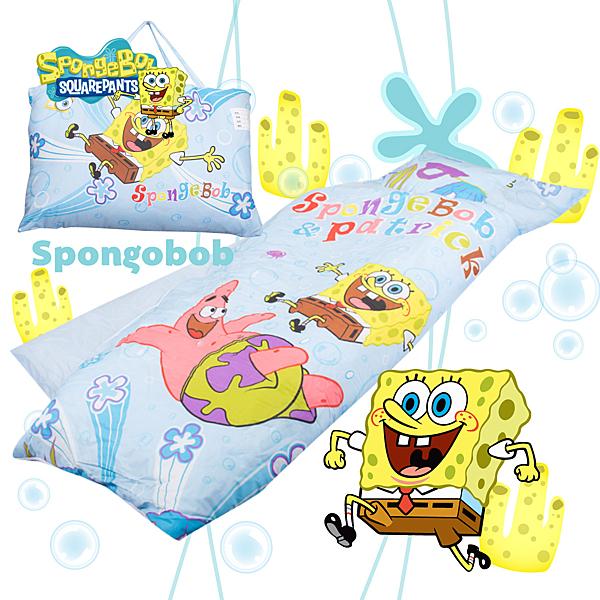 海綿寶寶 朋友 兒童睡袋 標準 台灣製 超取限一顆 伊尚厚生活美學