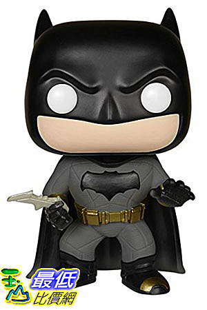 [美國直購] Funko POP Heroes: Batman vs Superman - Batman Action Figure 蝙蝠俠行動圖
