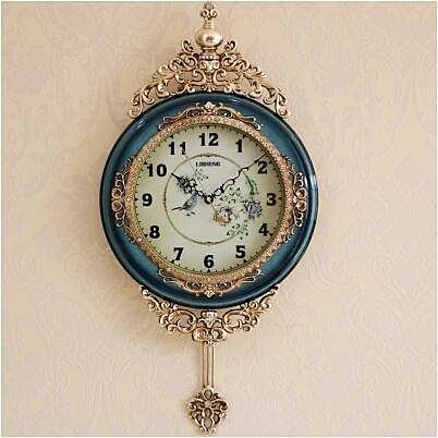 【衫衫來時】家用牆壁鐘錶靜音客廳掛鐘時鐘北歐裝飾掛錶B8074-81