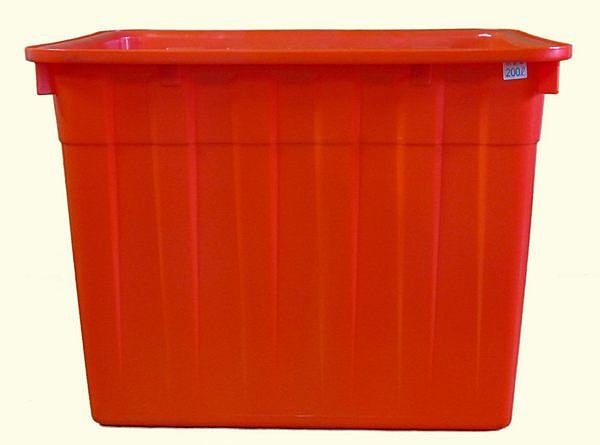 **好幫手生活雜鋪**通吉 200L普力桶--------四角桶,方形桶,塑膠桶,海產桶,水產桶