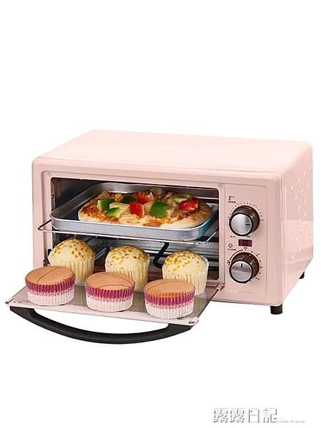 220V CKX-11X01電烤箱家用烘焙小型烤箱多功能全自動迷你考箱蛋糕 露露日記
