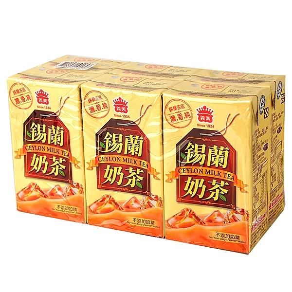 義美錫蘭奶茶250m*24入/箱