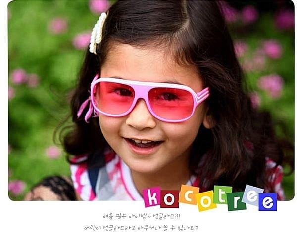 [韓風童品]兒童可愛造型配件兒童太陽鏡 男女童太陽眼鏡1