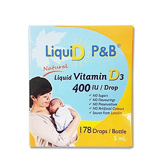 優寶滴- LiquiD P&B 高濃縮天然維生素D3 教學醫院推薦 專品藥局【2008524】