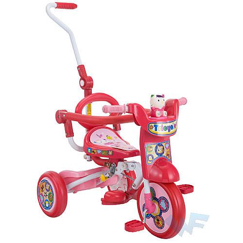 【MIT 精選童車】三輪車系列 - 可愛貓咪折疊三輪車 888A