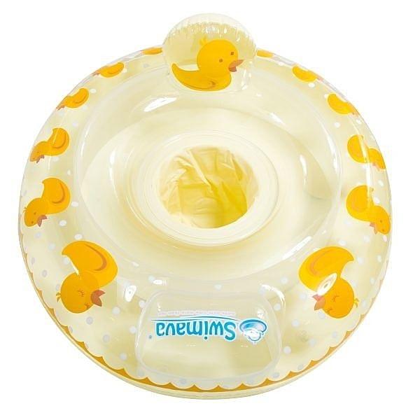 【總代理公司貨】英國 Swimava 小黃鴨 嬰幼兒坐圈/泳圈/游泳