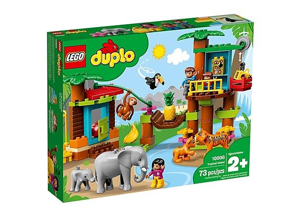 【愛吾兒】LEGO 樂高 duplo得寶系列 10906 熱帶島嶼