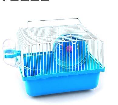倉鼠籠 寵物倉鼠籠倉鼠用品雙層豪華倉鼠籠子別墅鼠籠 買就送套餐【限時八五折鉅惠】