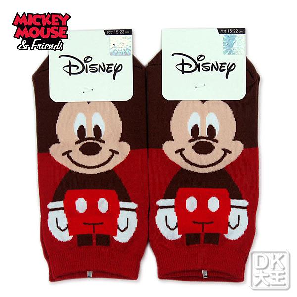 迪士尼 米老鼠 米奇直板襪 短襪 船襪MK-A516 ~DK襪子毛巾大王