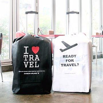 韓版UTI旅行箱收納袋 無紡布行箱保護套 皮箱防塵罩【現貨+預購  不挑款出貨】