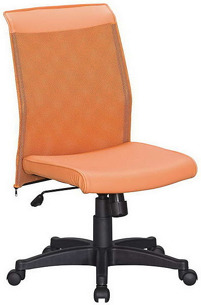 HP350-02 CS-270橙網背椅(橙皮)氣壓+後仰