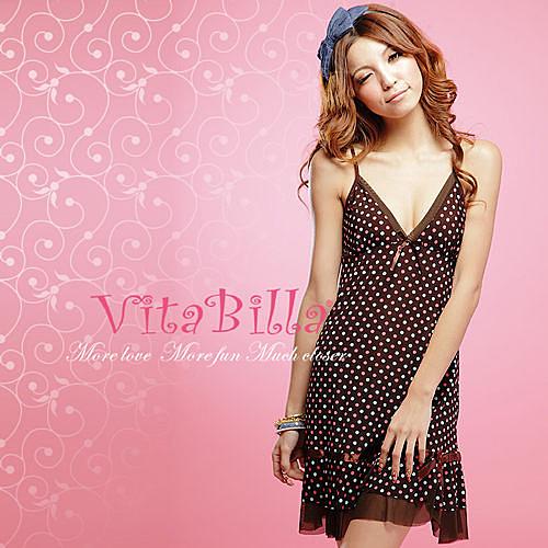 【伊莉婷】VitaBilla 率性新娘 睡裙+小褲 二件組