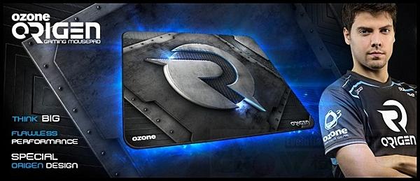 [地瓜球@] Ozone Origen 戰隊版 布質 電競 遊戲 滑鼠墊~縫邊加強 強力橡膠底部