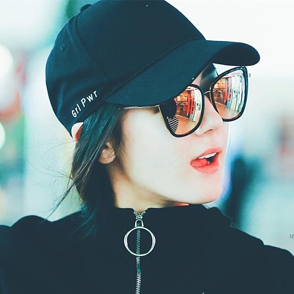 [超豐國際]帽子女春夏天新款字母刺繡愛心扣棒球帽韓版休閑時尚1入