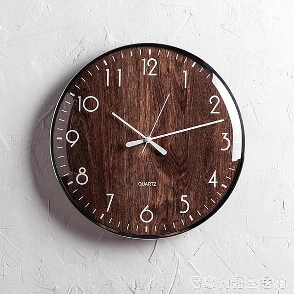 歐式表客廳創意時鐘臥室牆面家用時尚鐘表現代簡約個性掛表掛鐘