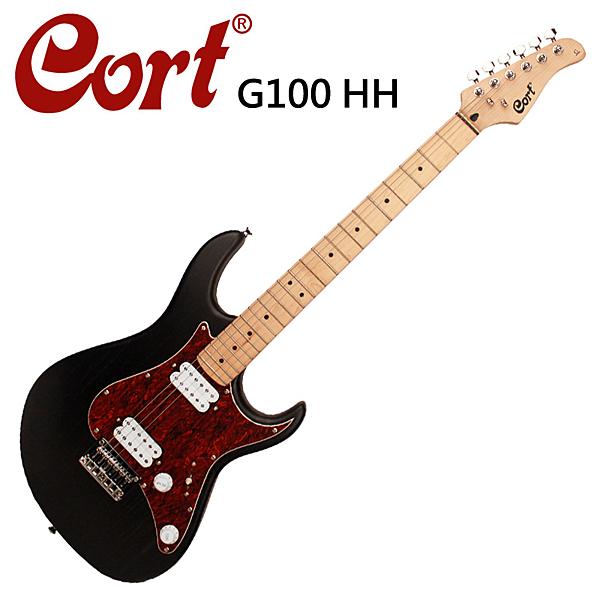 ★CORT★G100 HH-OPBB 嚴選電吉他-經典黑色款