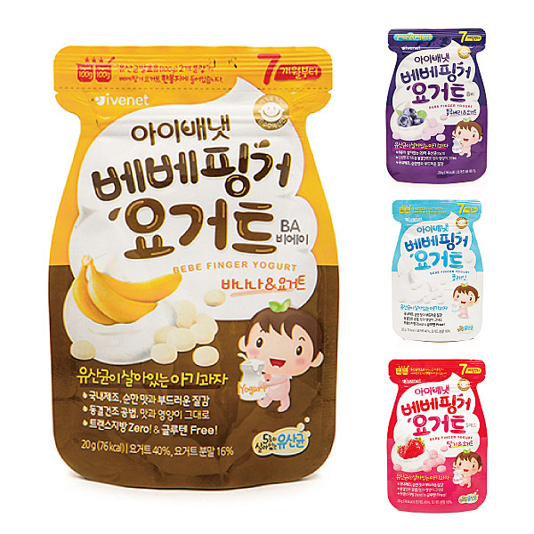 韓國 ivenet 艾唯倪 優格豆豆餅20g(4款可選)