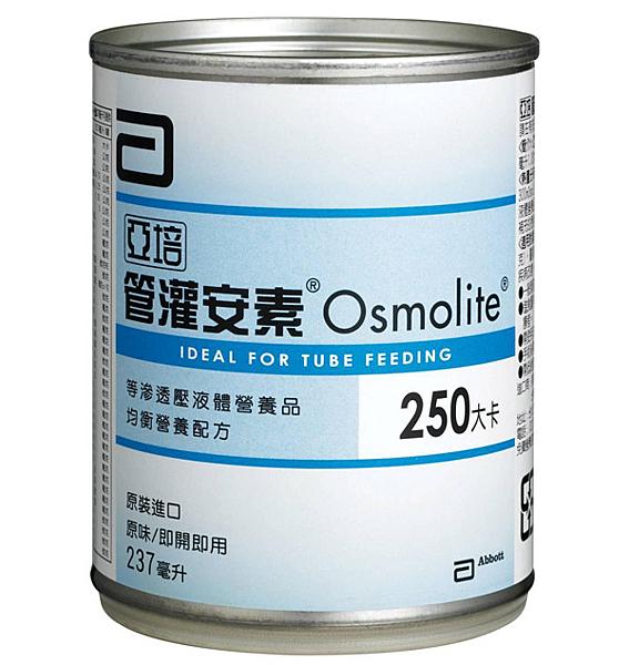 亞培 管灌安素 均衡營養配方 (237ml*24罐/箱)【杏一】