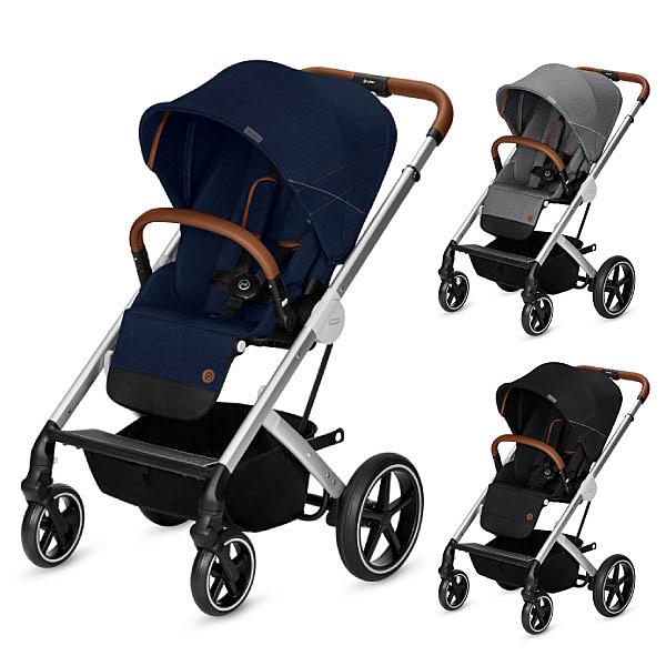 Cybex Balios S 雙向嬰兒手推車-單寧款(3色可選)
